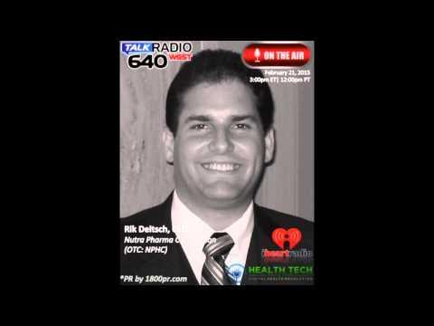 Rik Deitsch CEO of Nutra Pharma Corp. Interviewed on Health Tech Talk Live