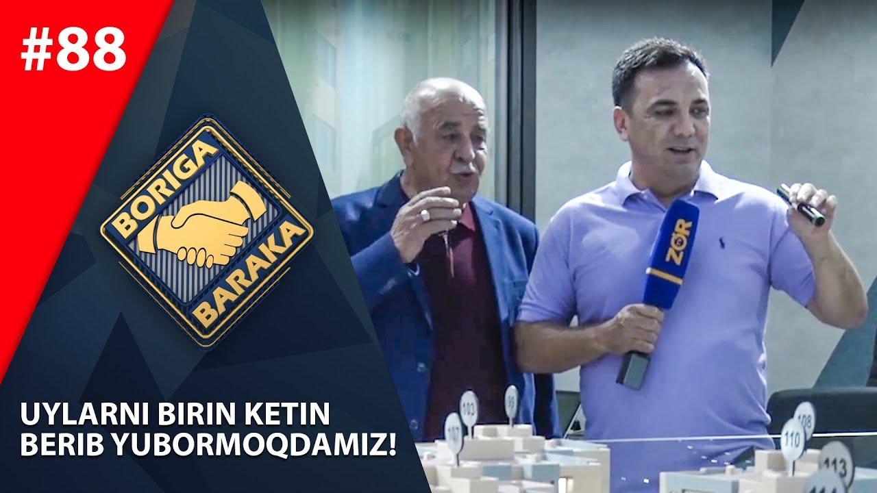 Boriga baraka 88-son Uylarni birin-ketin  berib yubormoqdamiz! (19.10.2019)