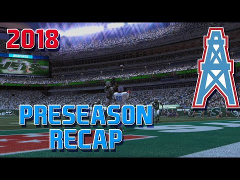 Madden 15 Franchise Mode - Houston Oilers | Season 5 Preseason
