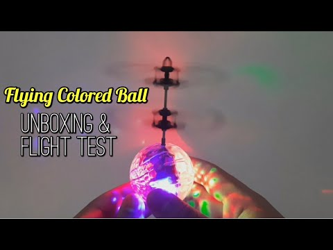 Flying Colored Ball | Induction Crystal Ball || R4Reviews