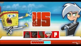 Super Brawl Summer (Губка Боб супер драки) - прохождение игры