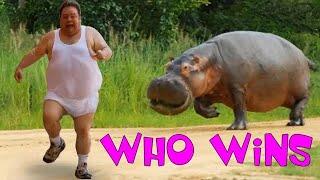 Man VS Animal who Wins