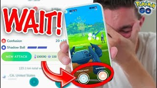 DO NOT UNLOCK EXTRA MOVES YET! (Pokémon GO PVP)