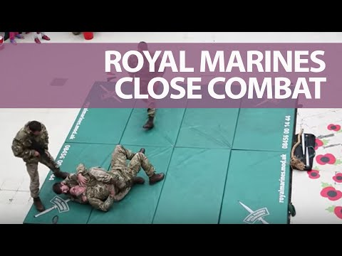 Poppy Day: Royal Marines Reveal Unarmed Combat Techniques