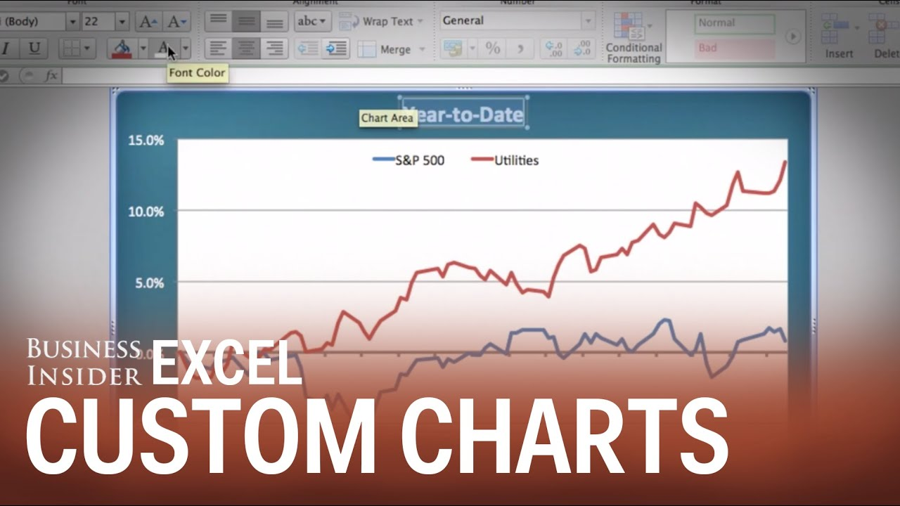 How To Make Custom Chart Templates YouTube – General Color Chart Template