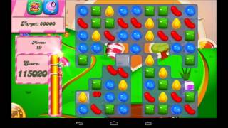 Candy Crush Saga Level 69 Walkthrough