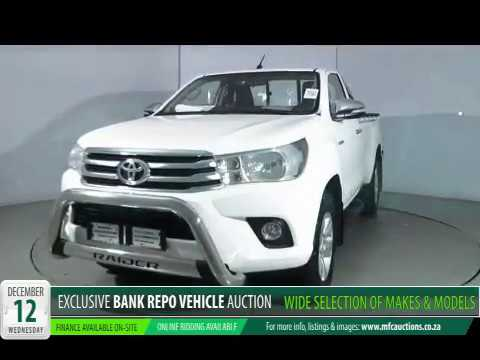 Mfc Bank Repo Vehicle Auction 12 Dec Youtube