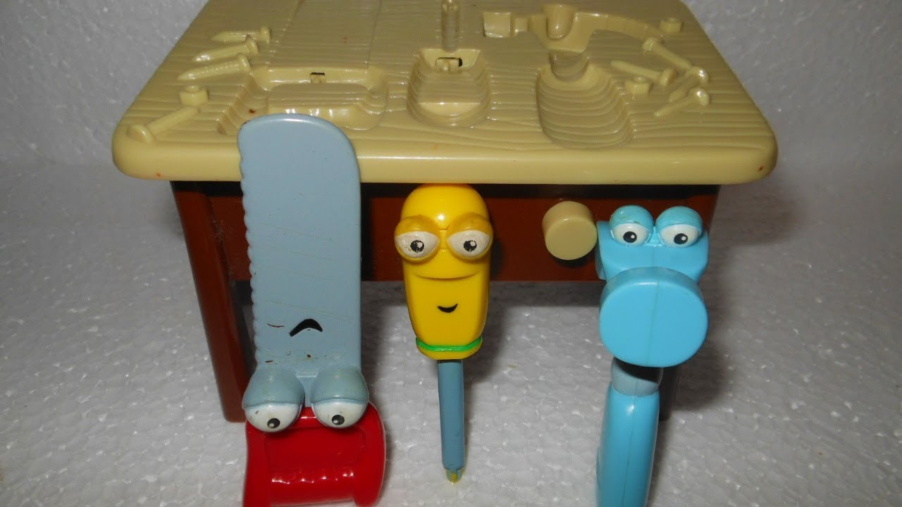 Handy Manny Talking Mini Workbench Tool Bench Toy Youtube