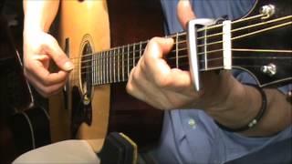 Last Kiss-J Frank Wilson-no  harmony-chords -fingerstyle -cover