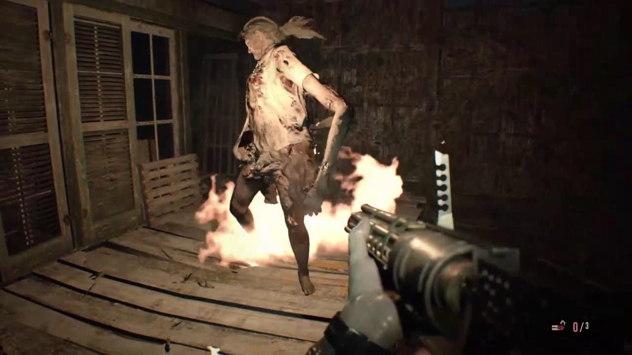 Resident Evil 7 Mutated Marguerite On Madhouse Youtube