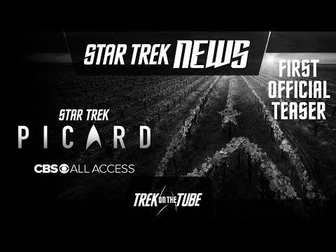 STAR TREK NEWS - Star Trek: Picard Teaser breakdown