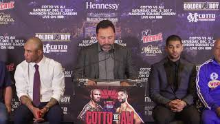 Oscar De La Hoya on Miguel Cotto's last hurrah (Video: Golden Boy Promotions)