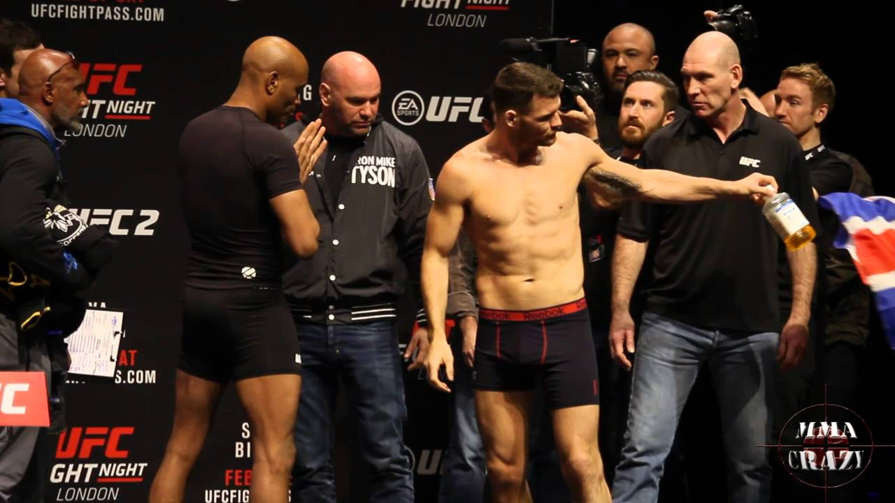 UFC Fight Night London Anderson Silva vs. Michael Bisping ...