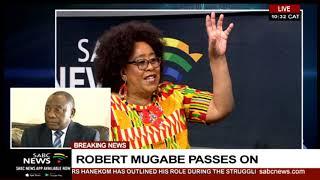 Robert Mugabe I Former Zimbabwean Ambassador Jacqueline Zwambila pays tribute
