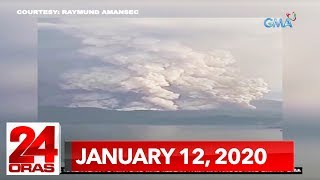 24 Oras Weekend Express: January 12, 2020 [HD]