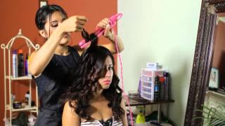 How to Do Perfect Curls for a Wedding : Tress to Impress