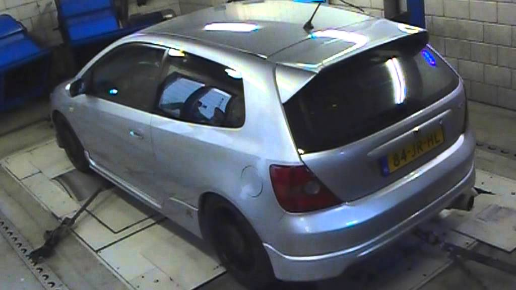 Honda Civic Type-R EP3 dyno run @ Verhoeven Tuning November 2012.mpg - YouTube
