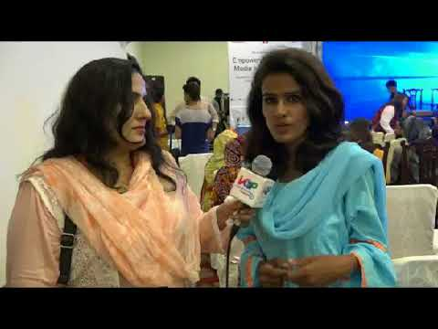 First Womens empowering in Media and journalism conference collaboration with Pak US alumnai