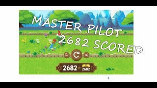 Big Score 2682 in Celebrating Garden Gnomes (many try) | Google Game Series