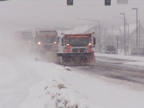 Hennepin County plow crews work overtime to clear roads