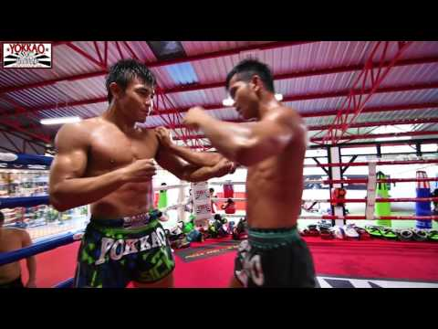 Muay Thai Clinching: Manachai & Wuttichai - YOKKAO Training Center Bangkok