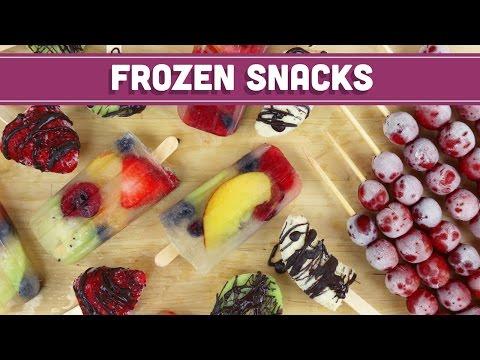 Healthy Frozen Fruit Snacks for Summer! - Mind Over Munch