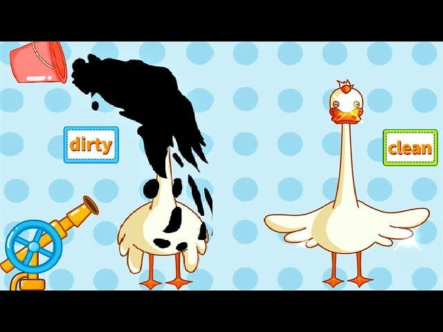 Baby Learn Antonyms - Cute, Lovely Characters | Baby Panda Fun Game For Kids