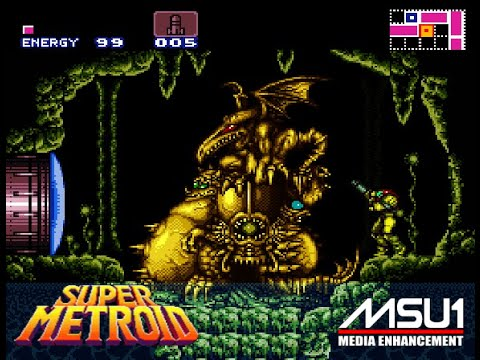SNES MSU1 Super Metroid