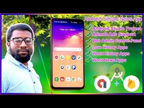How To Make App Android Studio Simple News Apps Source Code Project Template Free Bangli Part 1  2