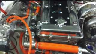 Alfa 75 Turbo D-Project first start (part 2)