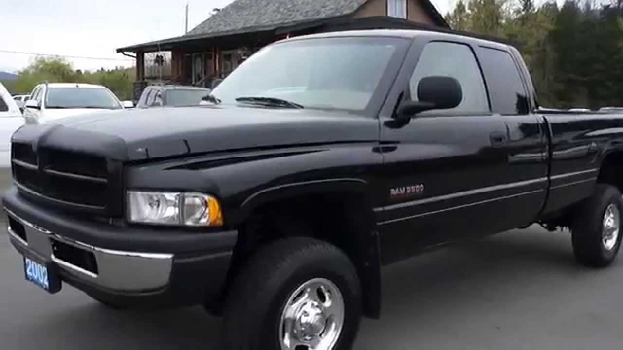 2002 dodge ram 2500 cummins diesel sport 4x4 at kolenberg motors ltd youtube. Black Bedroom Furniture Sets. Home Design Ideas