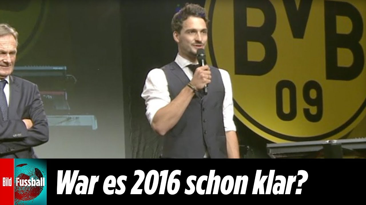 BVB-Abschiedsrede 2016: Hier deutet Hummels ein Wiedersehen an
