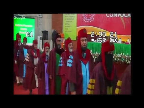 Hamdard University Convocation 2018