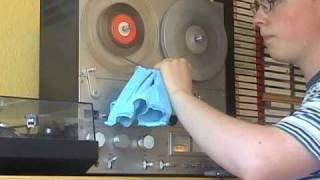 Making a recording on reel-to-reel!