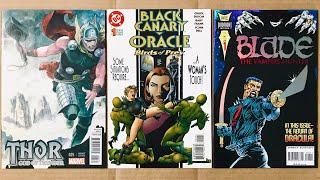 MERCENAUT HAUL #188:  INTERESTING VARIANTS![?] comic book haul 188