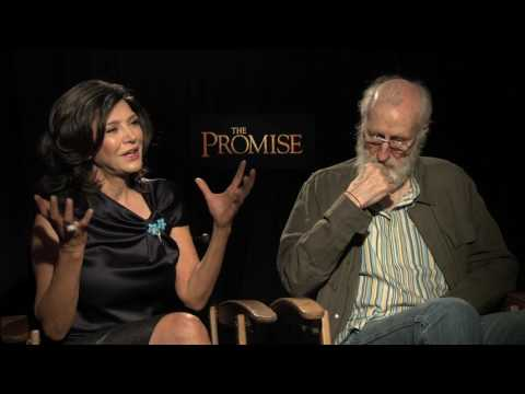 "Shohreh Aghdashloo and James Cromwell Interview for ""The Promise"""