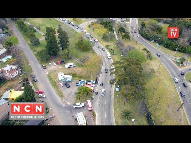 CINCO TV - Tigre realizó un nuevo operativo vehicular en el ingreso a la ciudad