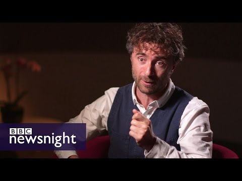 Garden Bridge designer Thomas Heatherwick (FULL INTERVIEW) - BBC Newsnight