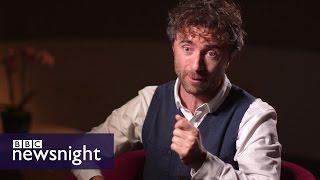 Garden Bridge designer Thomas Heatherwick tells Newsnight