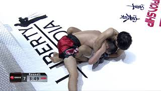 Shuhei Sakano vs Wang Daoyuan REBEL FC 6 - China VS The World