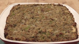 Homemade Cornbread Dressing - Mama Jean's Recipe