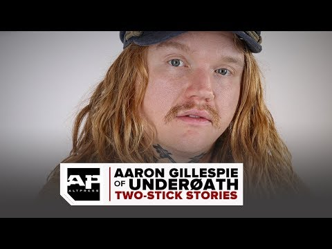 BEARDO - Aaron Gillespie of UnderØATH On Not Knowing What He's Doing On Drums