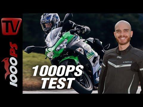 Kawasaki Ninja 400 2018 Test - Onboard Sound, Beschleunigung - neue Königin der A2-Bikes?