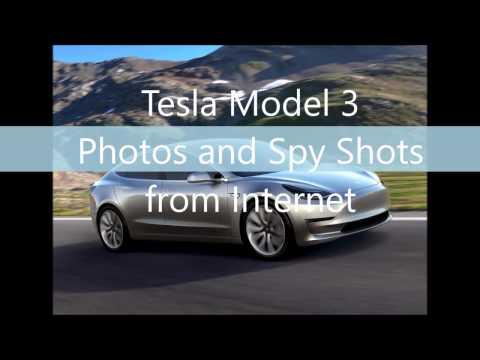 Tesla Model 3 HD Photos and Spy Pics