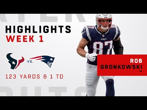 Gronk Tears Through Texans w/ 123 Yards & 1 TD