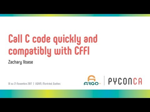 Image from Call C code quickly and compatibly with CFFI