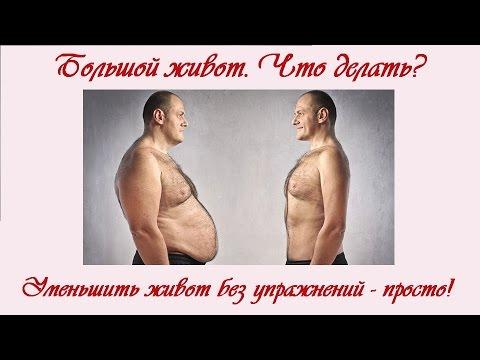 большой жир на животе