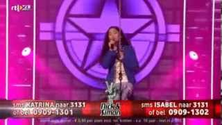 Katrina Wrecking Ball The Voice Kids 2014 Finale.