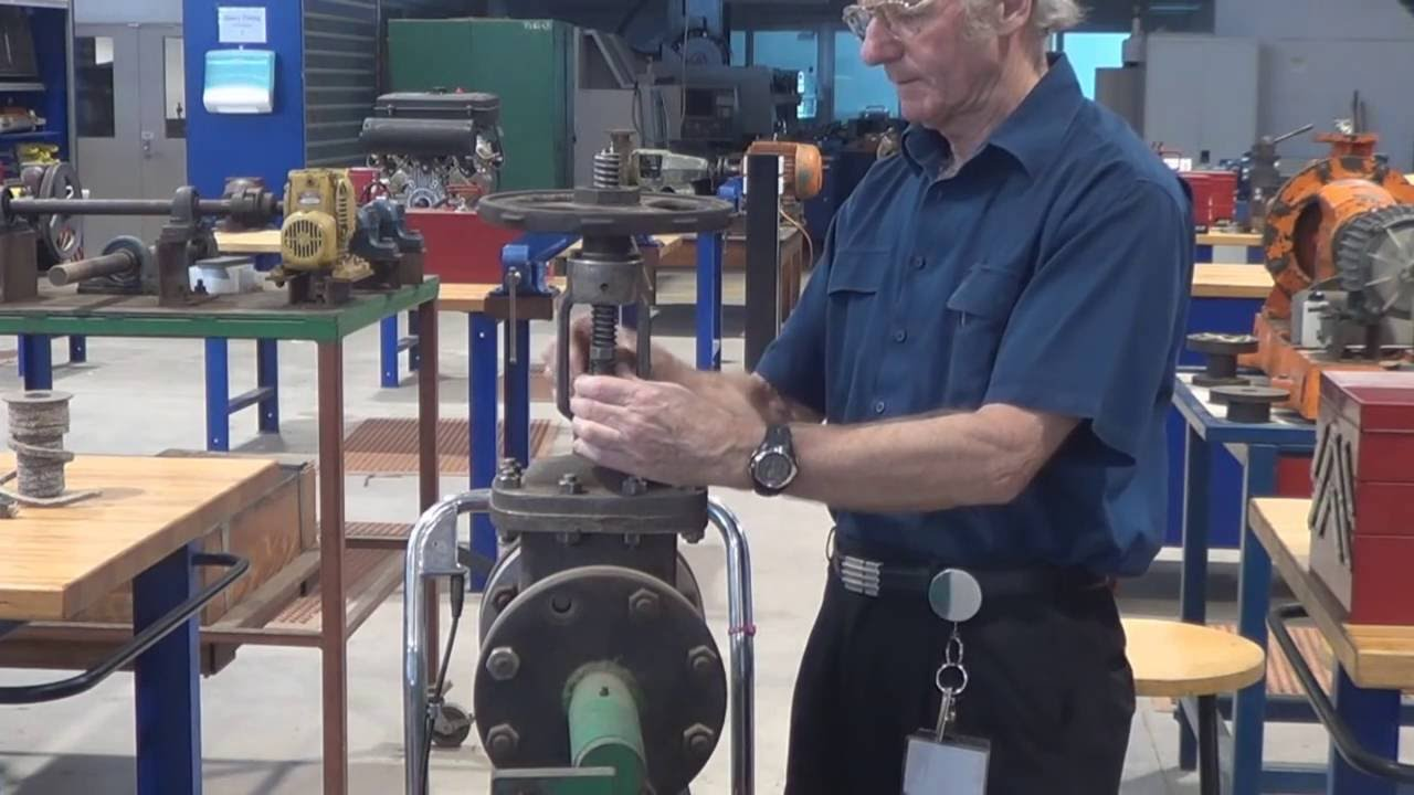 Gate Valve Gland Packing  How To Tutorial By Kevin Ging