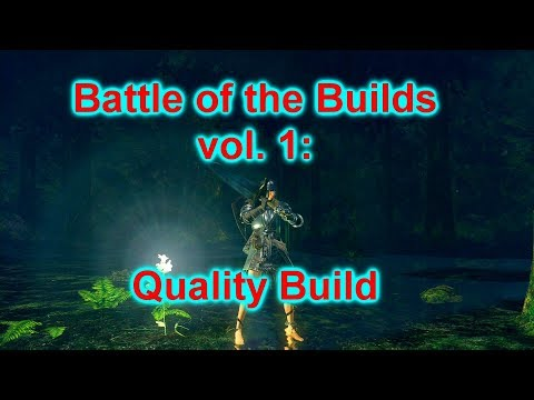 Dark Souls Remastered PvP: Battle of the Builds, episode 1: Quality Build